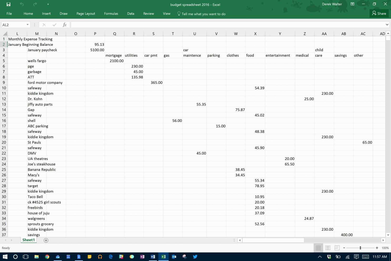 Sample Spreadsheet For Business Expenses How To Track Contracts In With Track Expenses Spreadsheet