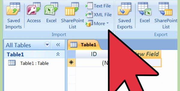 Scan To Spreadsheet Fresh How To Import Excel Into Access 8 Steps With Scan To Spreadsheet Scan To Spreadsheet Spreadsheet Software