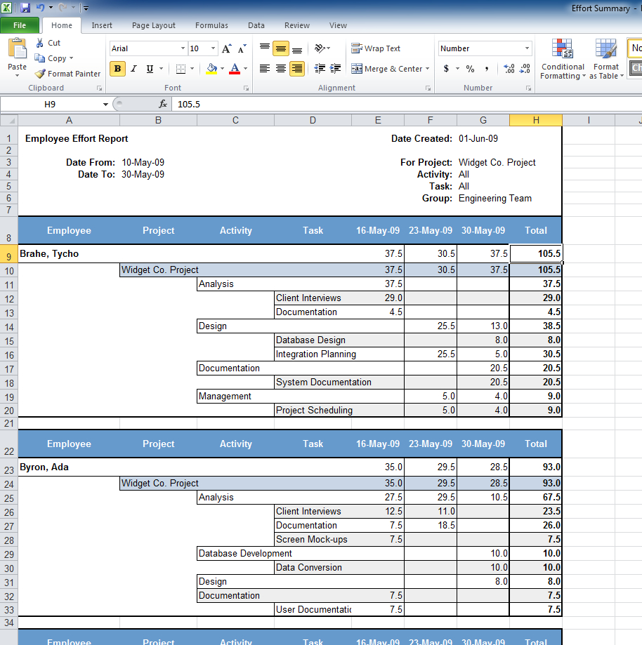 Senomix Timesheets   Easy Time Tracking Software In Employee Time Tracking In Excel
