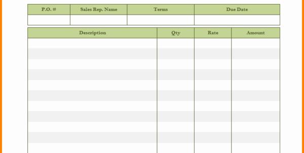 Service Invoice Template Quickbooks 4 Itemized Bill Template Intended For Invoice Template Quickbooks