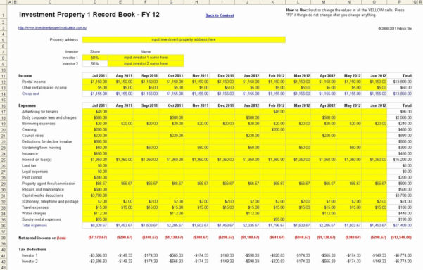 Sheet Rental Property Taxculator Spreadsheet Free Uk | Askoverflow For Rental Property Spreadsheet Free