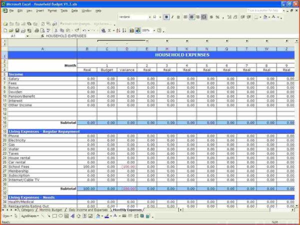 Short Film Budget Template Excel Luxury Design Nett Small Business In Small Business Budget Templates