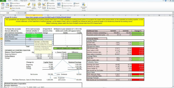Simple Accounting For Small Business In Excel Free Template Inside Simple Accounting Spreadsheet For Small Business