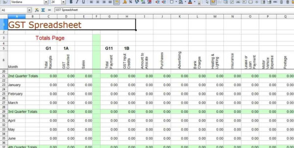 Simple Accounting Format In Excel   Durun.ugrasgrup With Simple Accounting Spreadsheet For Small Business