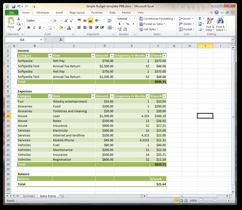 Simple Business Expense Spreadsheet Spreadsheet Softwar ...