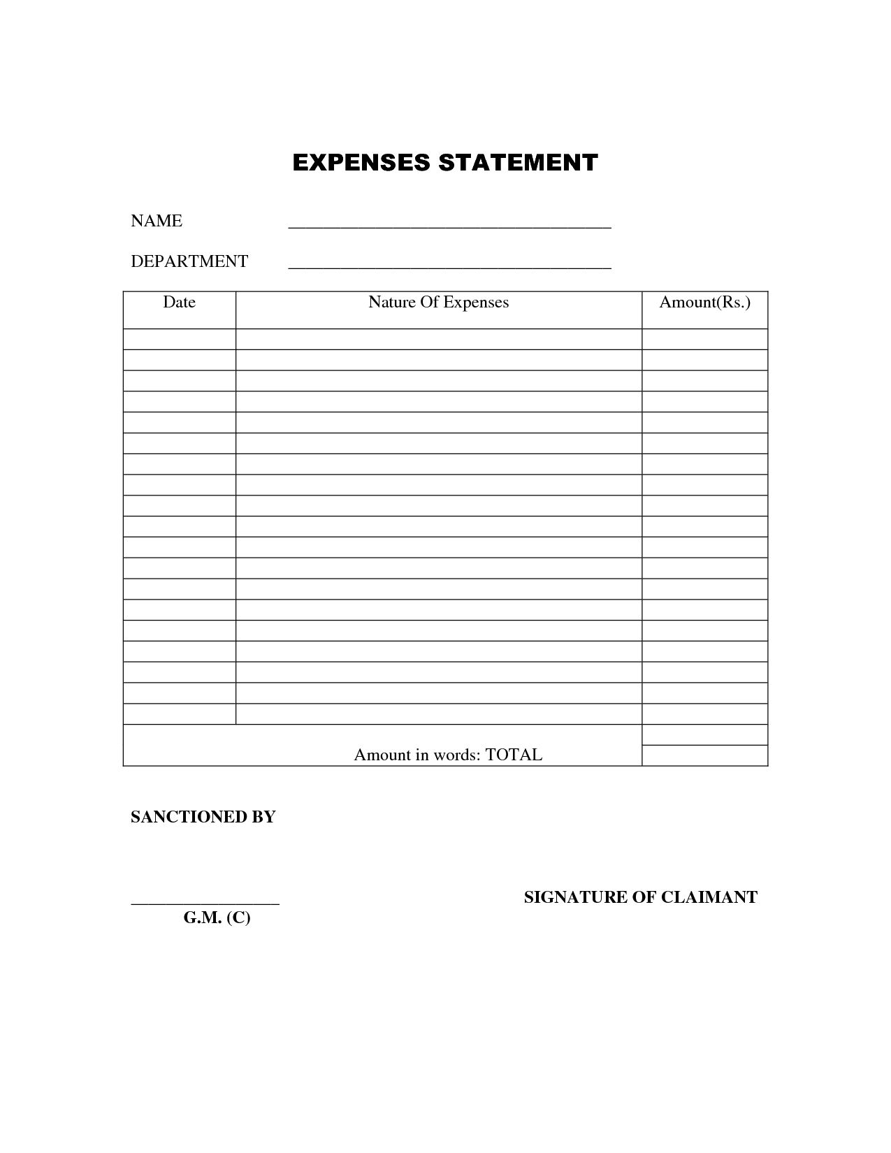 Simple Expense Report Form Save.btsa.co With Simple Expense Form Within Simple Expense Form
