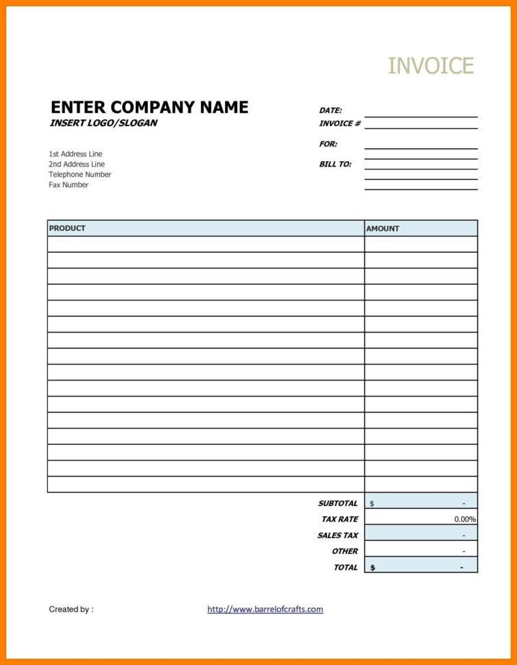 Simple Invoice Template Google Docs | Invoice Template Within Invoice Template Google Docs