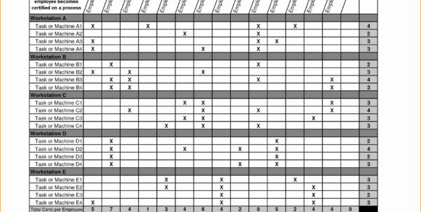 Skills Matrix Template Excel Excel Spreadsheet Training Spreadsheets Within Excel Spreadsheet Courses