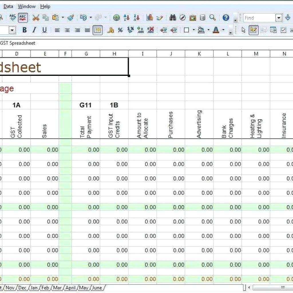 Small Business Accounting Templates   Durun.ugrasgrup To Simple Accounting Template Excel