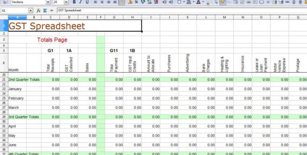 Small Business Bookkeeping Template Free Excel Spreadsheet For Small In Free Business Spreadsheet