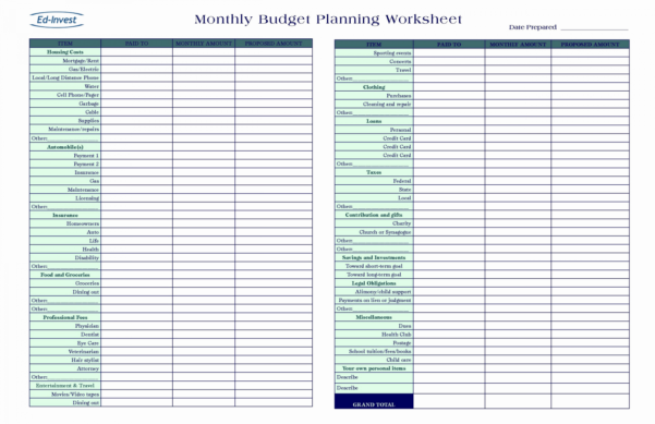 Small Business Budget Template Excel 2018 Excel Spreadsheet For With Business Expense List Template