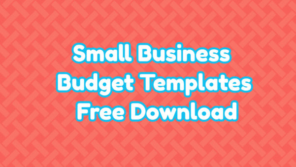 Small Business Budget Templates Free Download In Small Business Budget Template Free Download