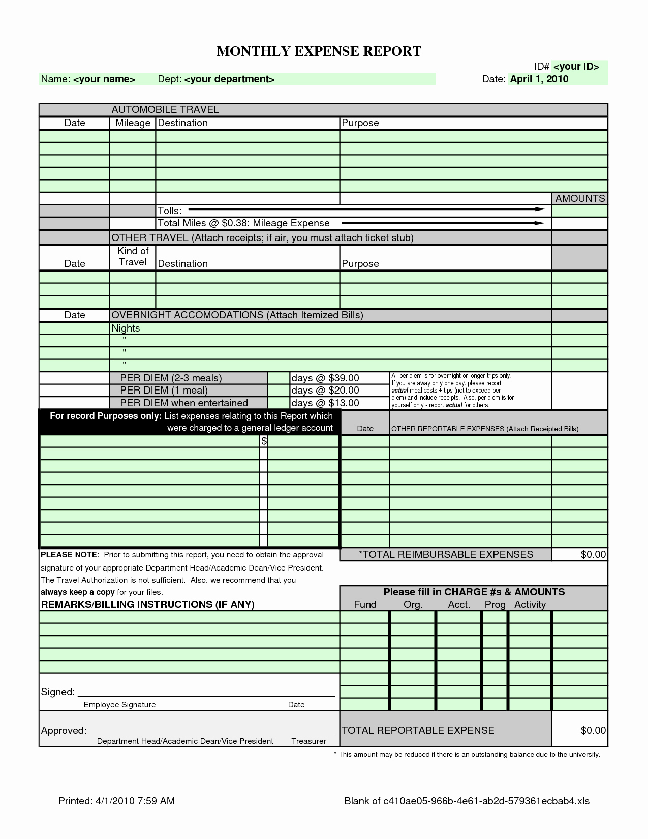 Small Business Expense Report Template Excel Elegant 50 Fresh Free With Business Expense Report Template Excel
