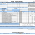 Small Business Expense Report Template Fresh Microsoft Excel In Microsoft Expense Report Template