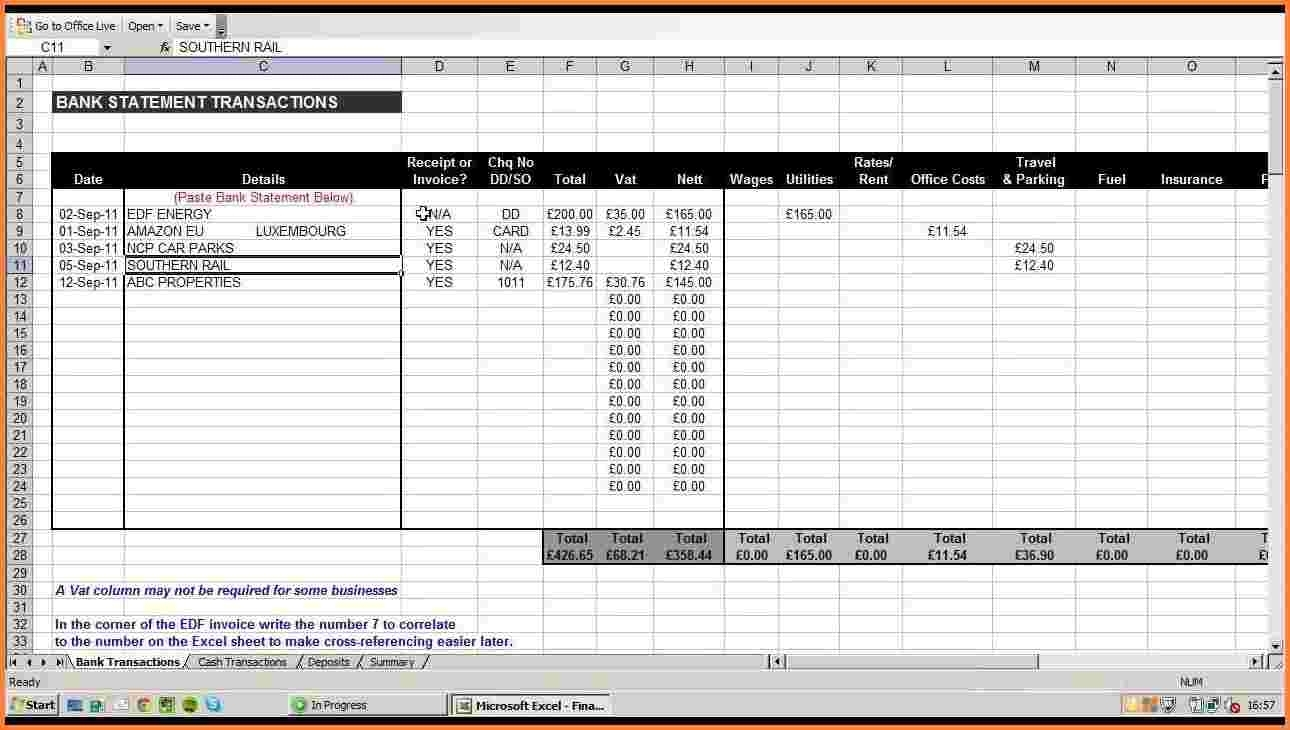 Small Business Expense Spreadsheet Canada Small Business Expense With Small Business Expense Spreadsheet Canada