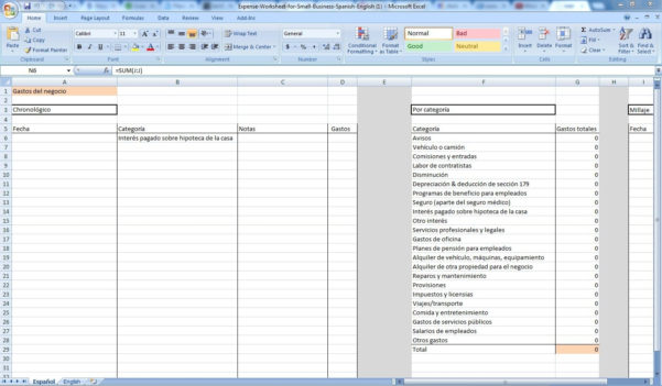 Small Business Expense Tracking Spreadsheet Laobingkaisuo Intended For Small Business Expense Spreadsheet Template