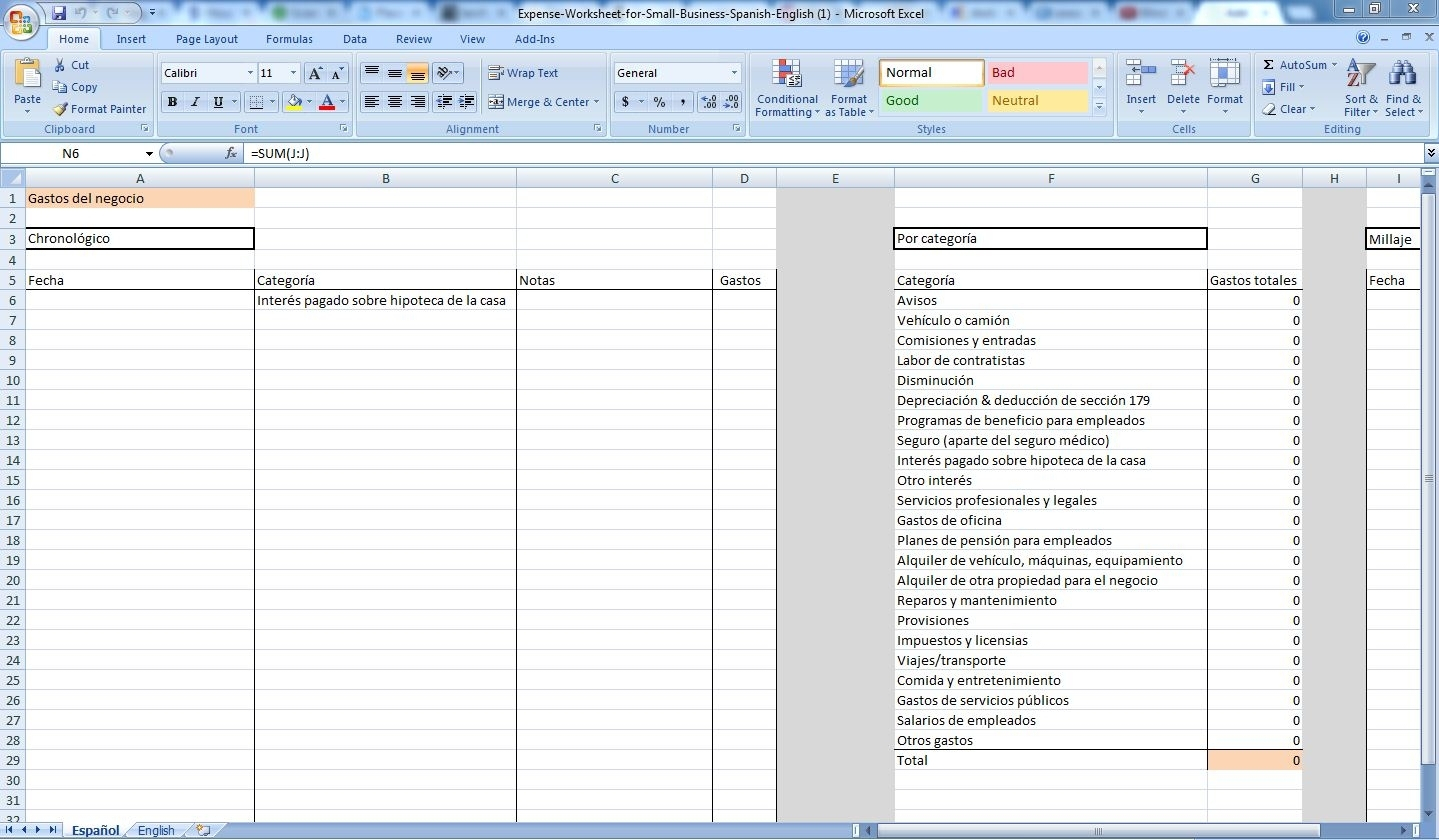 Small Business Expense Tracking Spreadsheet Laobingkaisuo Intended within Business Expense Tracker Template