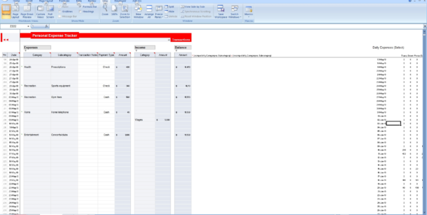 Small Business Expense Tracking Spreadsheet | Laobingkaisuo Throughout Business Expense Tracking Software