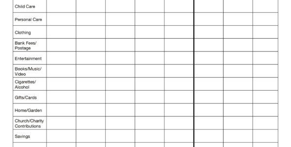 Small Business Spreadsheet For Income And Expenses | Job And Resume To Template For Business Expenses And Income