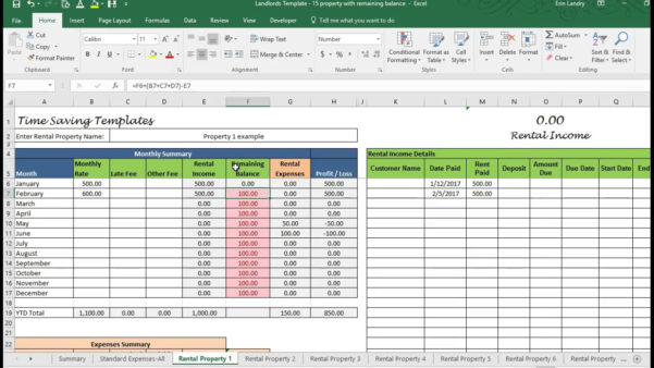 Spreadsheet Example Of Free Rental Property Template Maxresdefault Throughout Free Rental Property Spreadsheet Template