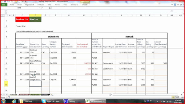 Spreadsheet Example Of Salon Bookkeeping Free Inspirational And Salon Bookkeeping Spreadsheet