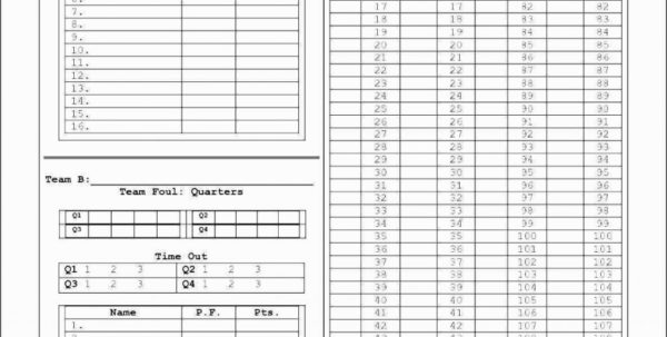 Spreadsheet Example Of Softball Stats Baseball Scorecard Template With Softball Stats Spreadsheet