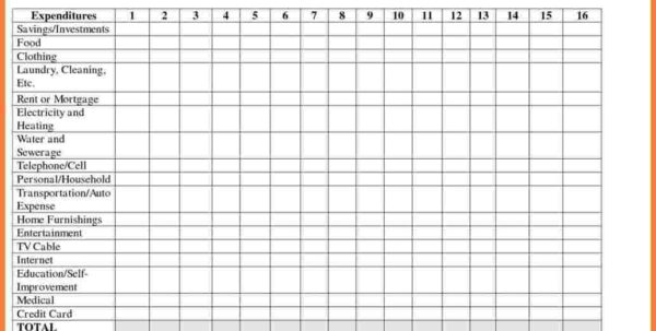 Spreadsheet For Household Bills On Budget Spreadsheet Excel With Spreadsheet For Bills