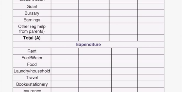 Spreadsheet Monthly Expense Tracker Calculator Spending Planner And Online Budget Calculator Spreadsheet