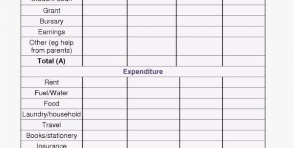 Spreadsheet Monthly Expense Tracker Calculator Spending Planner And Online Budget Calculator Spreadsheet