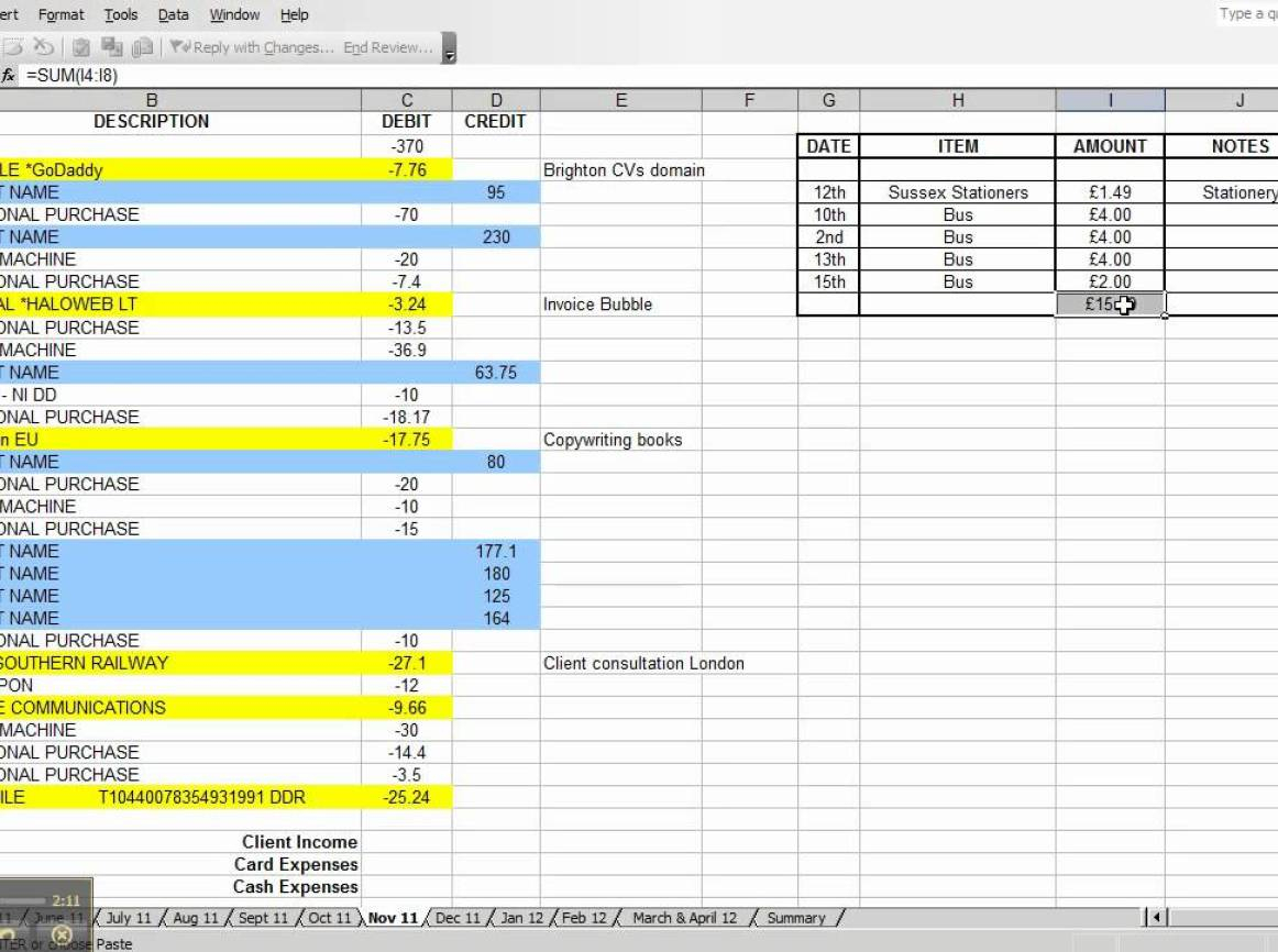 Spreadsheet Small Business Expense Canada Tracking Template Example And Expense Spreadsheet For Small Business