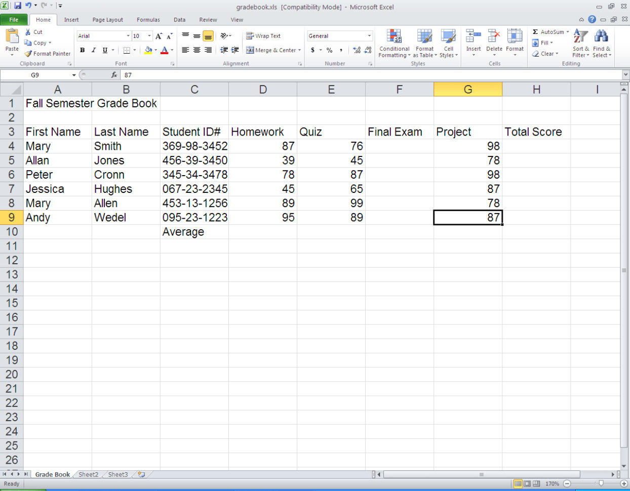 Spreadsheet Tutorial Excel 2010 On Excel Spreadsheet Spreadsheet Throughout Learn Excel Spreadsheet