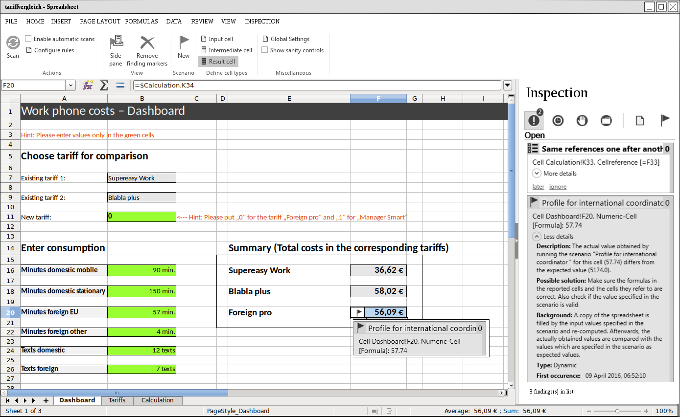 Start :: Spreadsheet Inspection Framework In Www.spreadsheet.com
