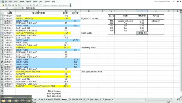Start Up Expense Sheet   Durun.ugrasgrup In Start Up Business Expense Spreadsheet
