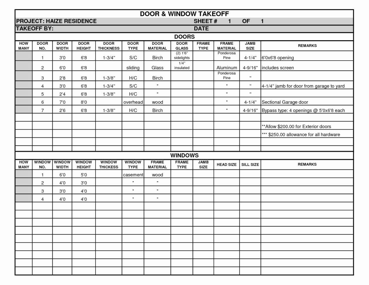 Steel Estimating Spreadsheet Inspirational Structural Steel Takeoff Intended For Steel Takeoff Spreadsheet