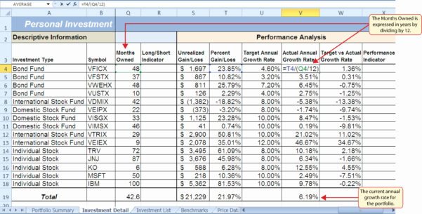 Stock Portfolio Excel Spreadsheet Download | Spreadsheet Collections For Excel Spreadsheet Download