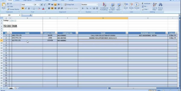 Task Management Excel Sheet Template Excel | Papillon Northwan And Task Management Spreadsheet