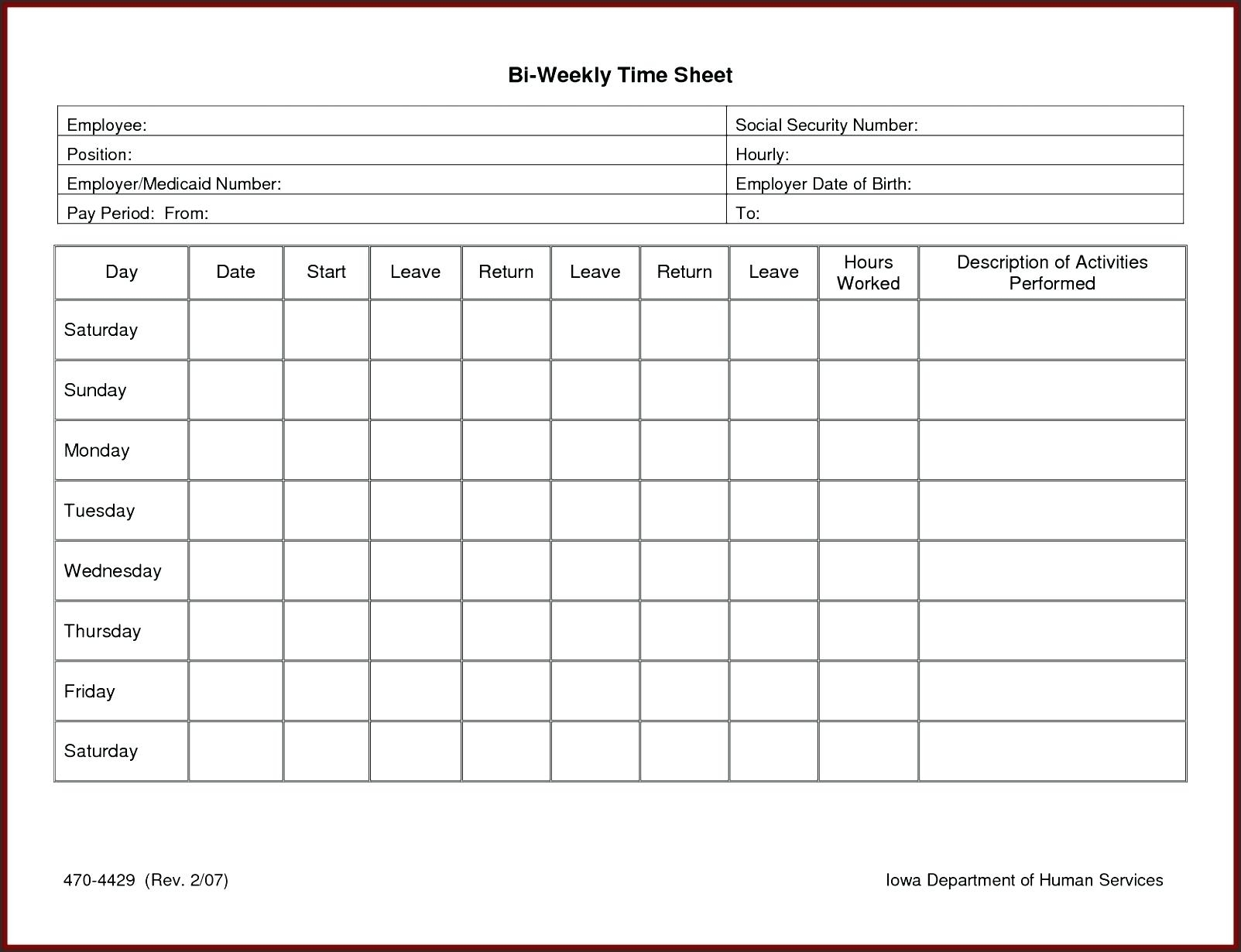 Template: Sample Timesheet Template With Employee Timesheet Inside Employee Timesheet Spreadsheet
