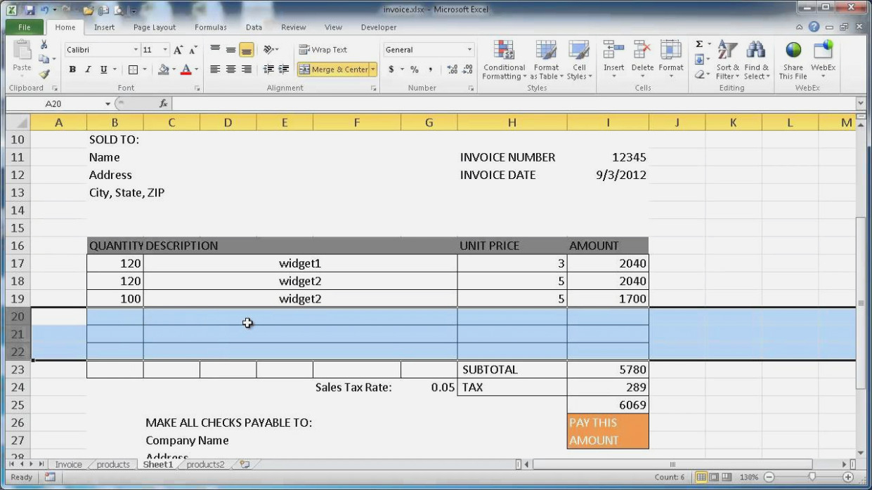 The 15 Secrets That You | Invoice And Resume Template Ideas In Create Invoices From Excel Spreadsheet