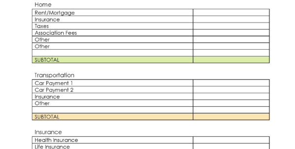 The Beginner's Guide To Budgeting   Jessi Fearon To Manage My Bills Spreadsheet