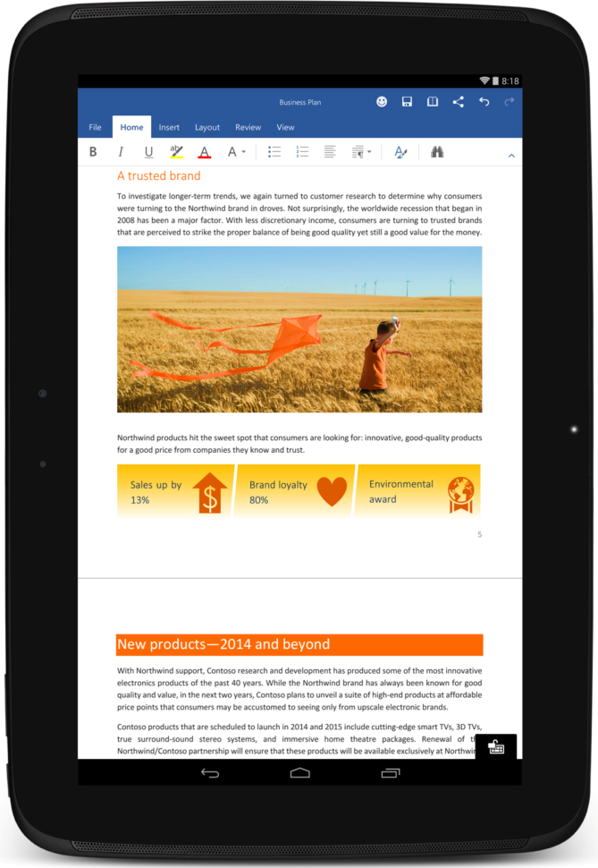 The Office You Love Is Now On Your Android Tablet   Microsoft 365 Blog And Best Tablet For Excel Spreadsheets
