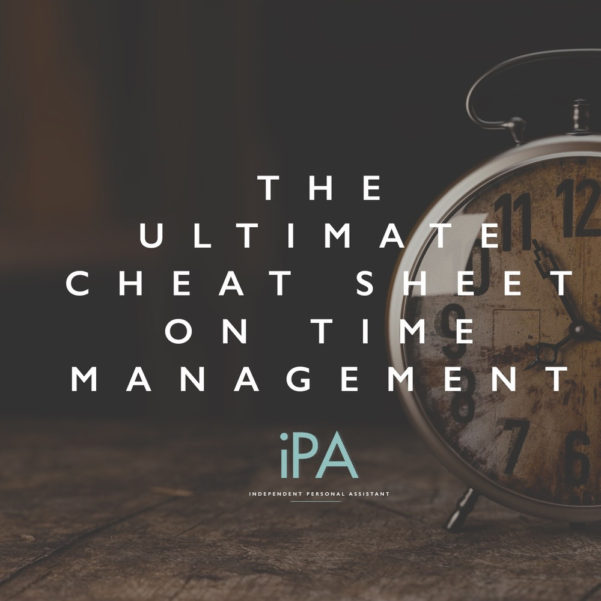 The Ultimate Cheat Sheet On Time Management – Independent Personal And Time Clock Cheat Sheet