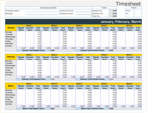 Time Keeping Spreadsheet | My Spreadsheet Templates To Excel Time Tracking Template