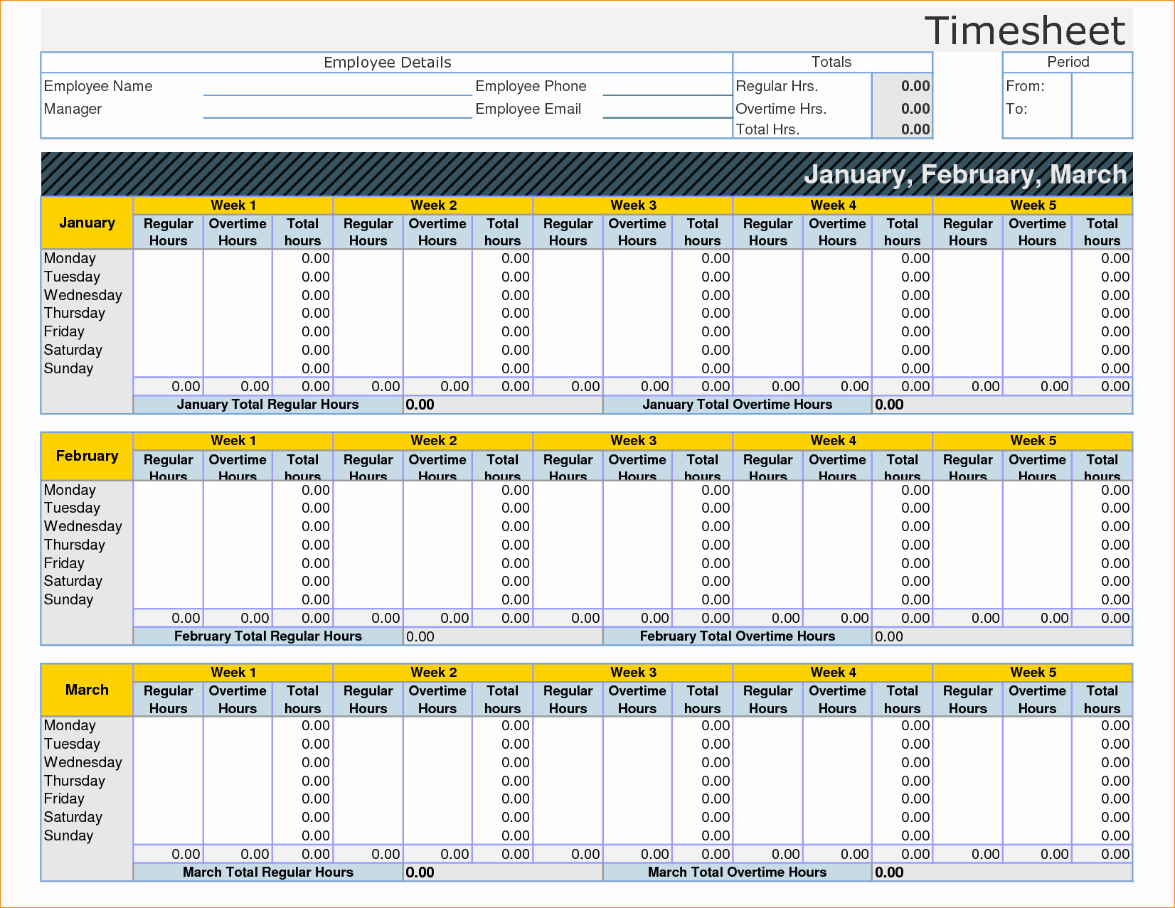 Time Log Template Excel | My Spreadsheet Templates With Employee Time Tracking In Excel