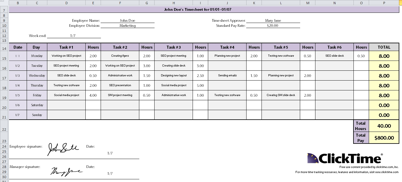 Time Management Spreadsheet   Durun.ugrasgrup Within Time Management Excel Template