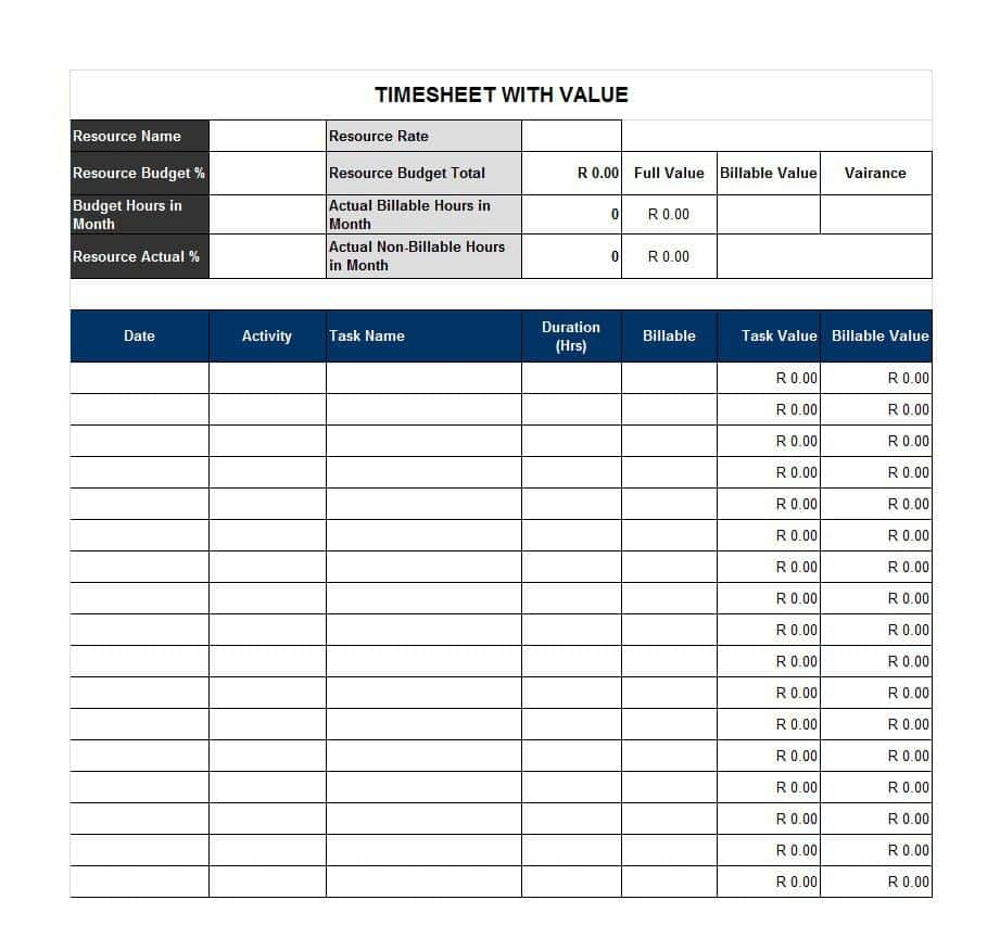 Time Off Tracking Spreadsheet On Excel Spreadsheet Templates Blank Within Time Off Tracking Spreadsheet