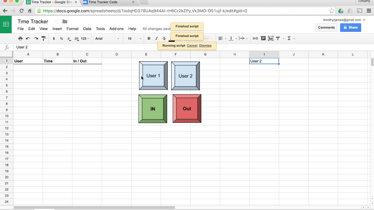 Time Tracking Spreadsheet Google As How To Create An Excel With Time Clock Spreadsheet