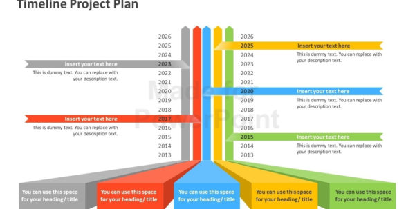 Timeline Project Plan Powerpoint Template And Project Timeline In School Project Timeline Templates