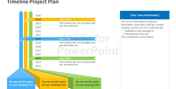 Timeline Project Plan Powerpoint Template With Project Timeline Plan