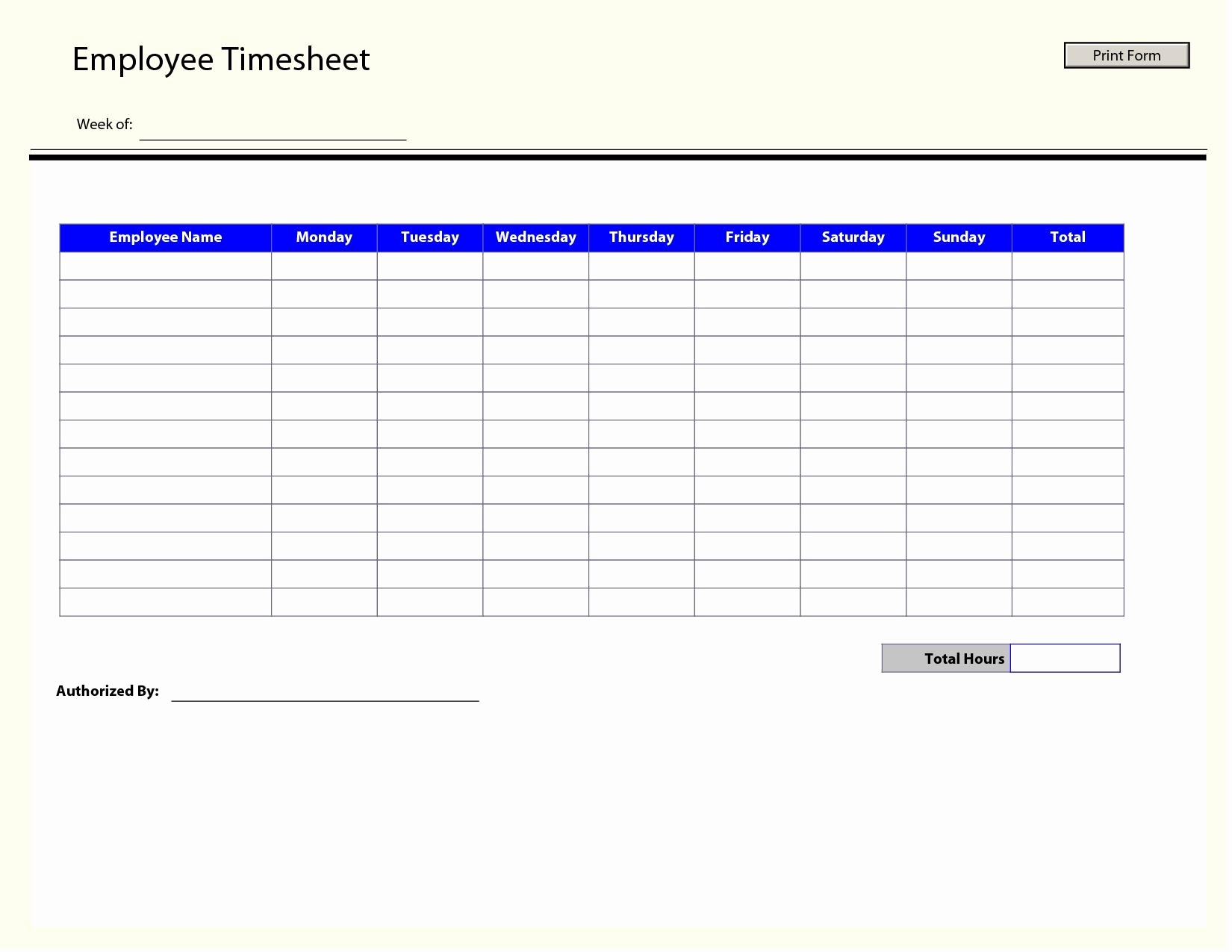 Timesheet Techmahindra General Free Simple Excel Employee Timesheet In Employee Timesheet Template