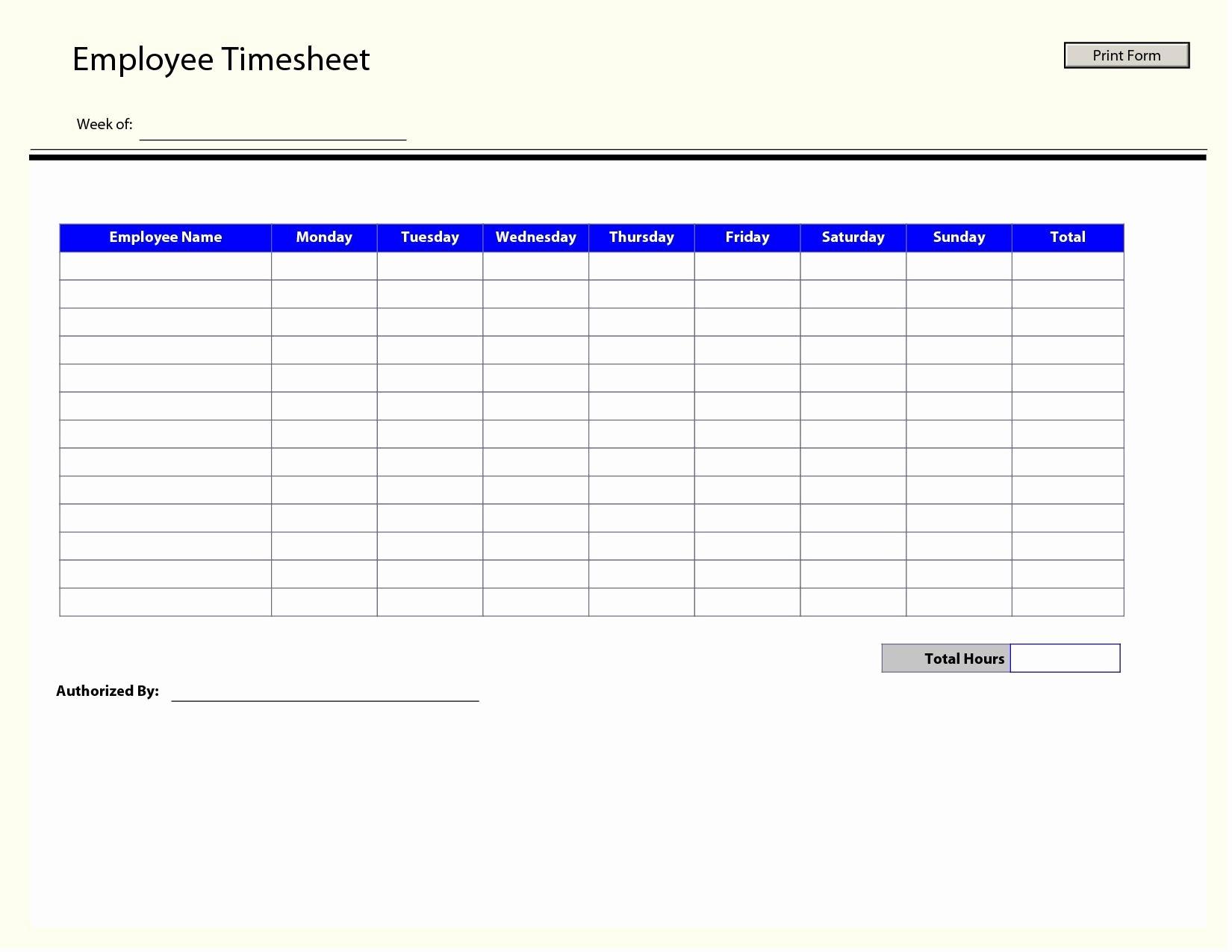 Timesheet Techmahindra General Free Simple Excel Employee Timesheet In Employee Timesheet Template